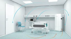 تهویه مطبوع بیمارستان